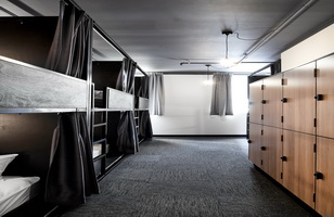 the pod sydney capsule hotel room